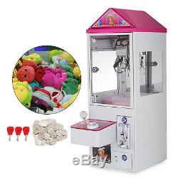 Mini Claw Crane Machine Candy Toy Grabber Catcher Carnival Charge Play Mall