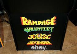 Mint Arcade1Up Rampage Arcade Machine with Defender, Joust, Gauntlet