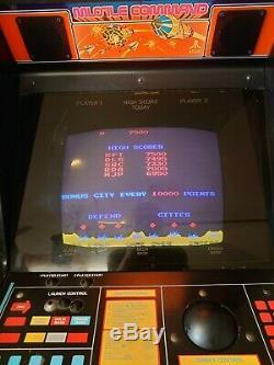 Missile Command ATARI Arcade Machine Original Atari Cabinet Works Great
