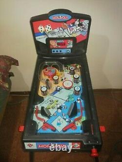 Monopoly Electronic Pinball Machine by Hasbro on 2000 Year