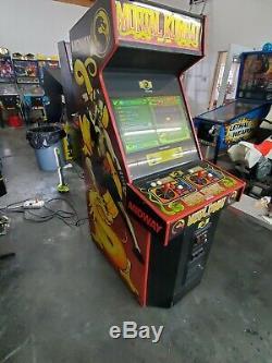 Mortal Kombat 1 MK1 Arcade Machine Plays over 1200 Games with Original PCB