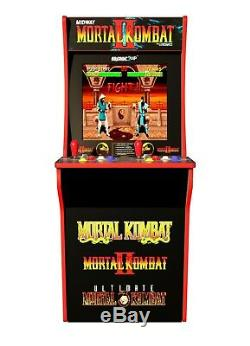 Mortal Kombat 2 Arcade Machine, Arcade1UP, 4ft Tall Video Game Cabinet NEW