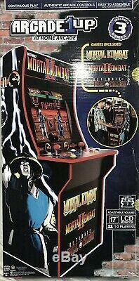Mortal Kombat 2 Arcade Machine, Arcade1UP, 4ft Tall Video Game Cabinet NEW