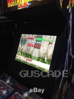 Mortal Kombat 2 II Arcade Machine Brand NEW Plays OVR 1020 Classic Games Guscade