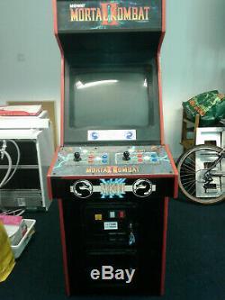 Mortal Kombat 2 II Arcade cabinet machine jamma original