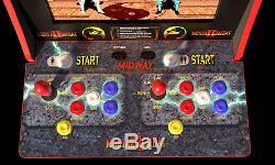 Mortal Kombat Arcade Machine, 4ft (Includes Mortal Kombat I, II, III)