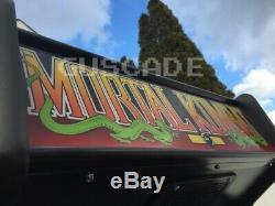 Mortal Kombat Arcade Machine Brand NEW Plays OVR 1,025 Classic Games Guscade