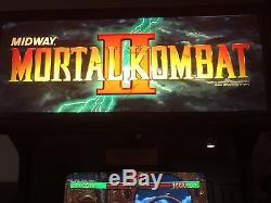 Mortal kombat ii arcade machine