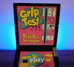 Mr. Vend vintage Coin Operated Grip Tester Impulse Machine A Lot of Fun