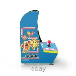 Ms. PAC-MAN Arcade1Up Counter-Cade 4 Games in 1 Tabletop Design Cabinet Machine