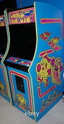 Ms. PacMan Multicade Classic Arcade Machine Plays 60 Games! Pac Man BRAND NEW