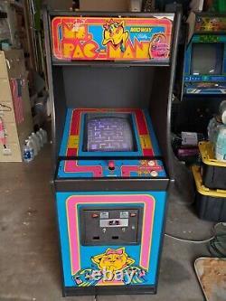Ms. Pac Man Arcade Machine Fully Restored