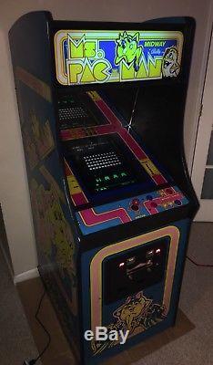 Ms Pac-Man, Donkey Kong, Frogger, Galaga, Space Invaders & more arcade machine