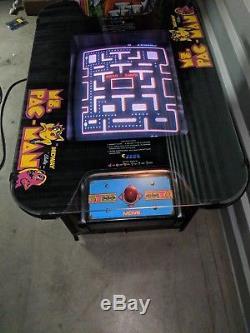 Ms Pac Man pacman Cocktail Arcade machine Warranty Original