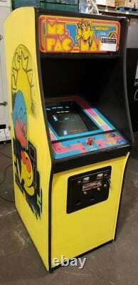 Ms Pacman Vintage 1980s Original Full Size Upright Arcade Machine
