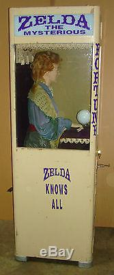 Mutoscope Zelda the Mysterious Fortune Teller, Arcade, Coin-op Machine