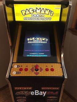 NAMCO's Pac-Man's Arcade Party Arcade Machine- multi-game system
