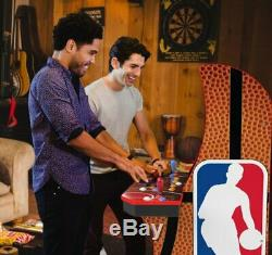 NBA JAM Arcade1Up Retro Gaming Cabinet Machine with Riser Per-Order SHIPS 7/28/20