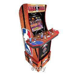 NBA Jam Arcade Cabinet Retro Arcade 1UP Light Up Marquee Arcade Machine Wi Fi