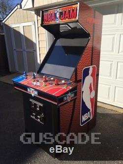 NBA Jam Arcade Machine Brand NEW Cabinet Plays Over 1,100 Classics 4-Player