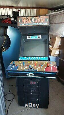 NBA Jam Tournament Edition Original Arcade Machine- 4-Player