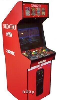 NEO GEO ARCADE MACHINE by SNK 1989 (Excellent Condition) RARE