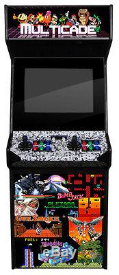 NEW JUMBO UPRIGHT ARCADE MACHINE 2000+ games Two player Old School Graphics XL