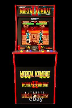 NEW Mortal Kombat 1, 2, & 3 Arcade1UP Arcade Machine Free Ship