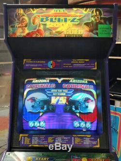 NFL Blitz 2000 Gold 2 Player Arcade Video Game Machine WORKING GREAT