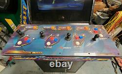 NFL Blitz Gold and NBA Showtime Gold COMBO Arcade Video Game Machine 4 Players
