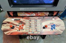 Namco TEKKEN 5 Full Size 2 Player Fighting Arcade Video Game Machine! WORKING