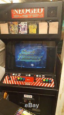 Neo Geo 6 Slot Arcade Machine by SNK (4 games included)