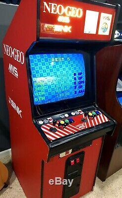 Neo Geo Arcade Machine 2-Slot With Extras