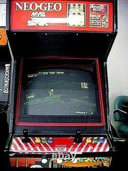 Neo Geo. Coin Operated Arcade Game machine