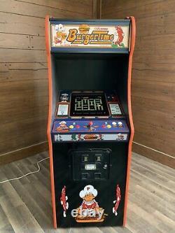 New Burger Time Arcade Machine, Upgraded