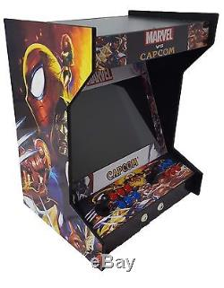 New Dual Side by Side Bartop/Tabletop Arcade Machine With 619 Classic Games