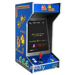 New Ms. Pac-Man Upright Bartop/Tabletop Arcade Machine With 412 Classic Games