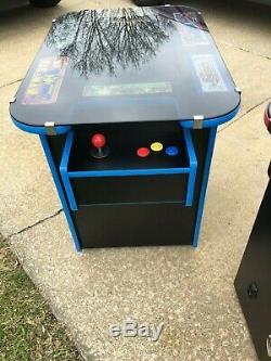 New Ms Pacman / Galaga 60 Game Multicade Cocktail Arcade Machine