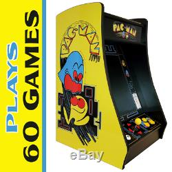 New PacMan Bartop Arcade Machine, Multicade with60 Game Jamma Board & 19 Monitor