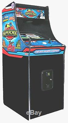 New SUPERCADE 50 Games in 1 Arcade Video Game Machine Chicago Gaming