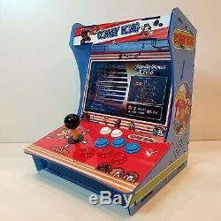 Nintendo Donkey Kong Arcade Machine / 2600 Games / Mini Bartop Cabinet