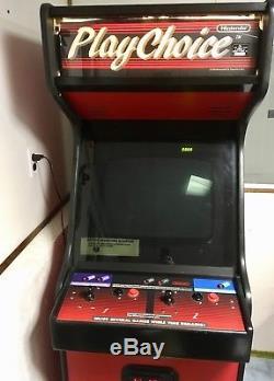 Nintendo PlayChoice 10 Arcade Machine (1988) Upright, Tested & Working