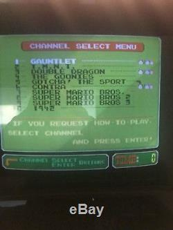 Nintendo PlayChoice 10 Dual Monitor Arcade machine With 10 GAMES-FREE SHIPPING