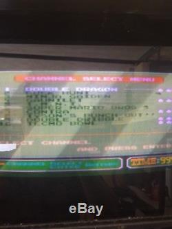 Nintendo PlayChoice 10 Dual Monitor Arcade machine withgun and 10 games