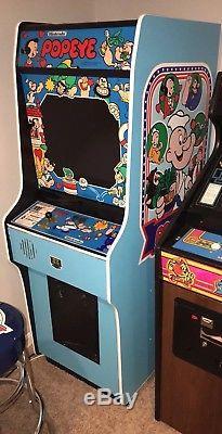 Nintendo Popeye Upright Arcade Machine Game New Stickers