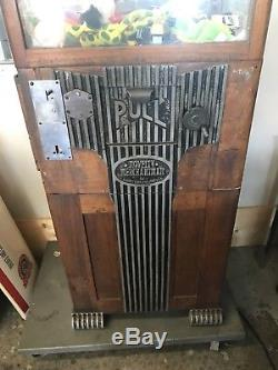 Novelty Merchantman, Art Deco, Vintage Coin Op Claw Machine