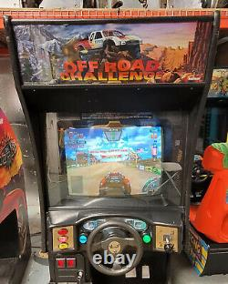 OffRoad Challenge Arcade Driving Racing Video Game Machine WORKS GREAT! Cruisin