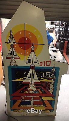 Original 1980 MISSILE COMMAND ARCADE MACHINE 80's Atari Game Coin Op