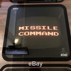 Original Rare 1980 Atari Missile Command Cocktail Arcade Machine