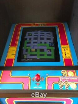 Original Vintage 1982 Midway Ms Pacman Arcade Machine with added 60 in 1 game play